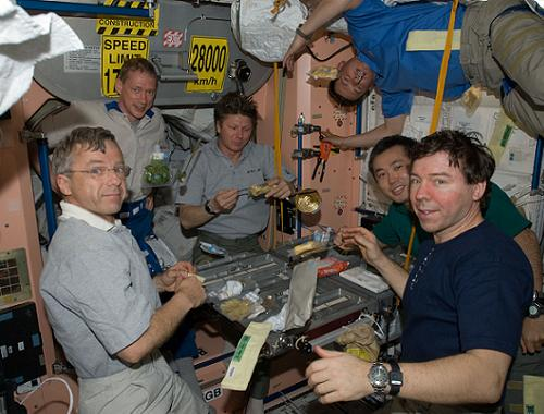 ISS Expedition 20 crew