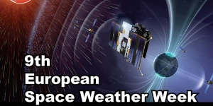Affiche Ninth European Space Weather Week