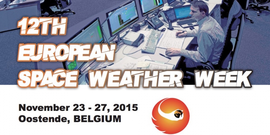 Twaalfde European Space Weather Week in Oostende
