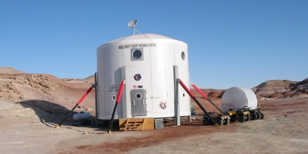 Het Mars Desert Research Station in Utah