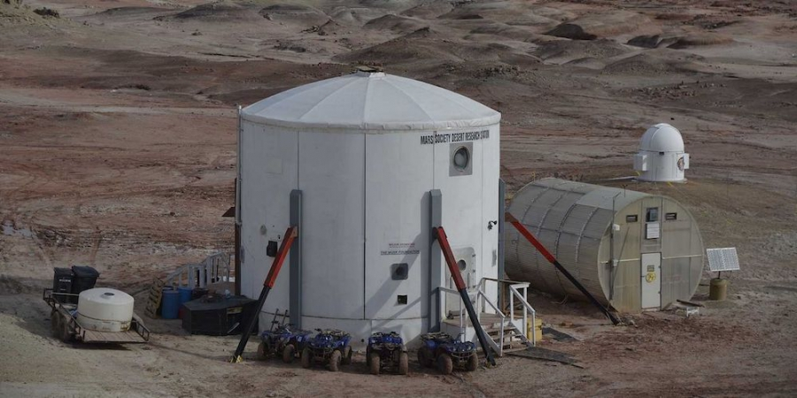 Het Mars Desert Research Station.